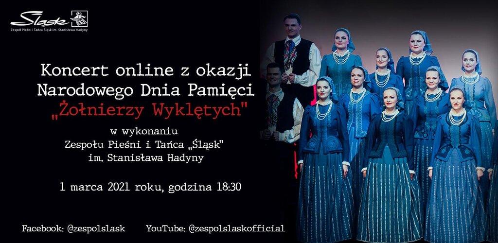 """Zespół Pieśni i Tańca """"Śląsk"""" w pamięci dla Żołnierzy Wyklętych"""