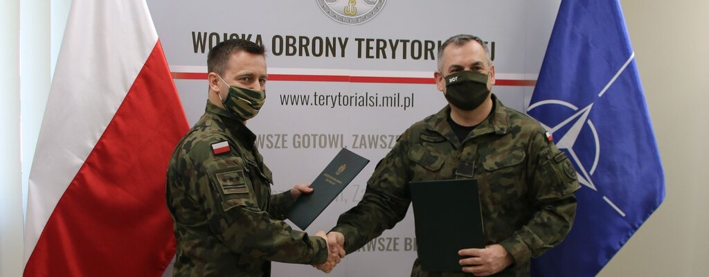 Porozumienie o współpracy z Inspektoratem Wojskowej Ochrony Przeciwpożarowej
