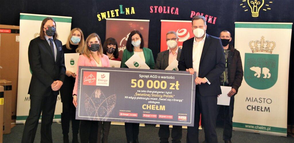 Sprzęt AGD od Energi z Grupy ORLEN już u mieszkańców Chełma