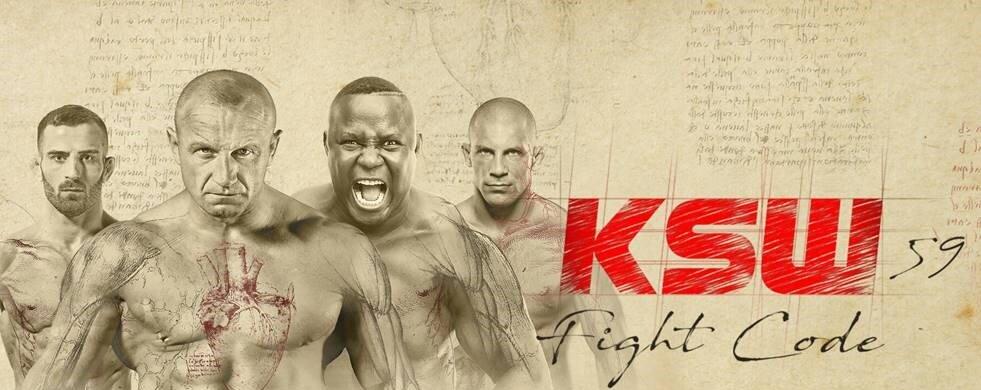 Gala KSW 59 Fight Code w Netia PPV