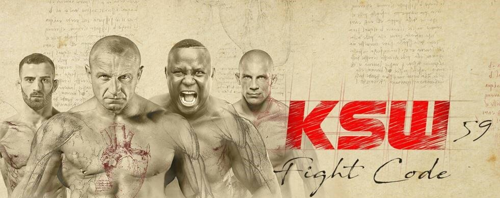 Gala KSW 59 Fight Code w Netia PPV