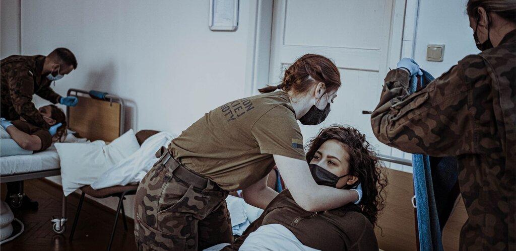 Opieka nad pacjentem leżącym