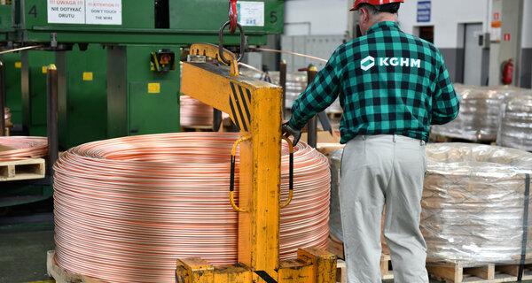 KGHM premiada y apreciada - el gigante del cobre recibe elogios por su estrategia de crecimiento y sus relaciones con los inversores