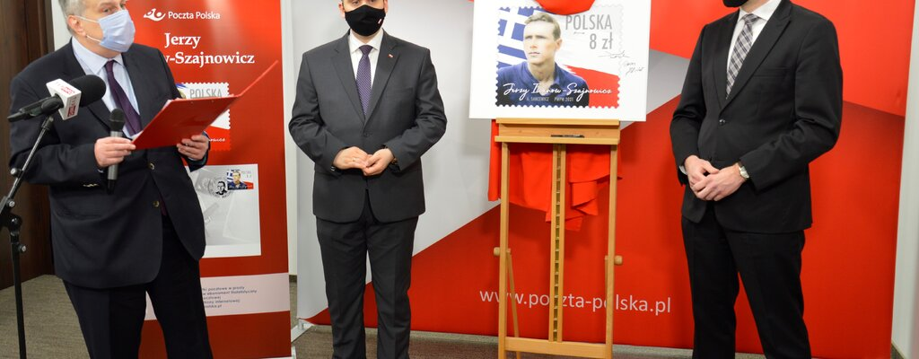 Polsko-grecki bohater na znaczku pocztowym