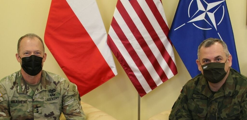 Dowódca V Korpusu U.S. Army z wizytą w Dowództwie WOT