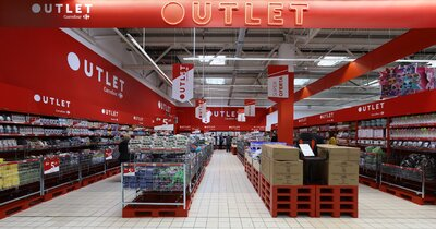 Strefy OUTLET w kolejnych sklepach Carrefour