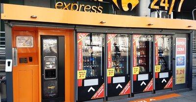 Sklepy samoobsługowe Carrefour Express z promocyjną ofertą handlową