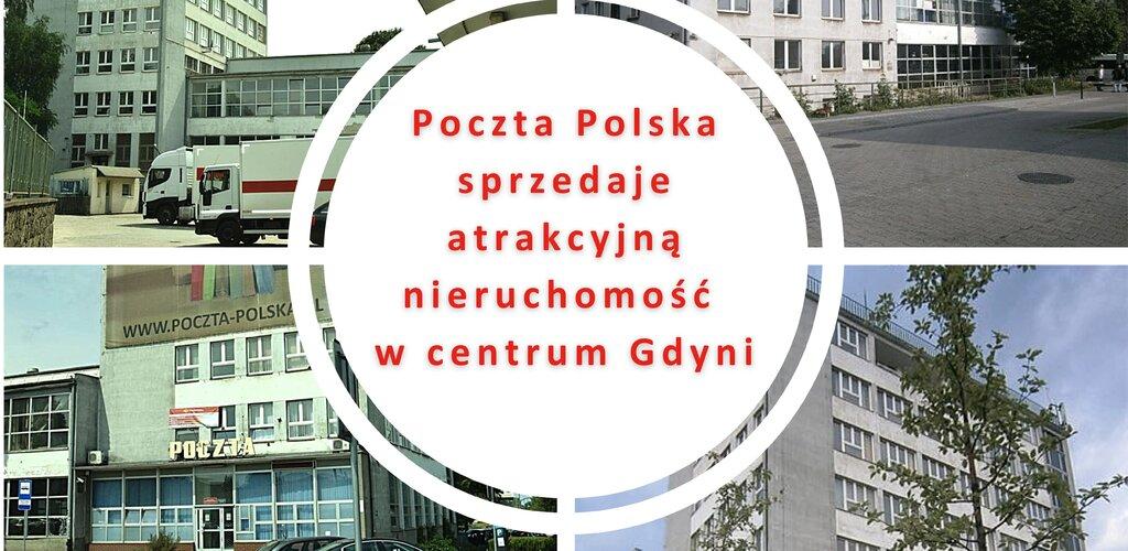 Poczta Polska sprzedaje atrakcyjną nieruchomość w centrum Gdyni