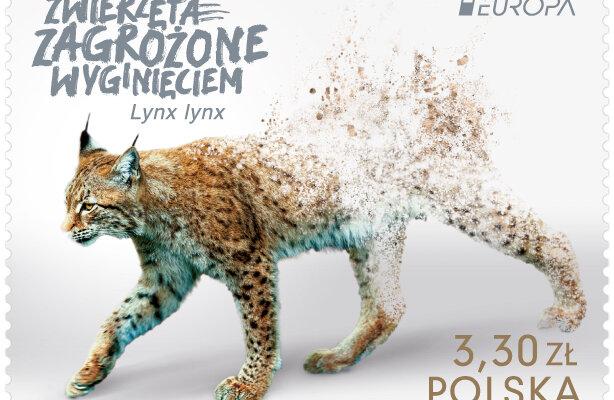 Zagrożone gatunki – nowy znaczek Poczty Polskiej serii EUROPA