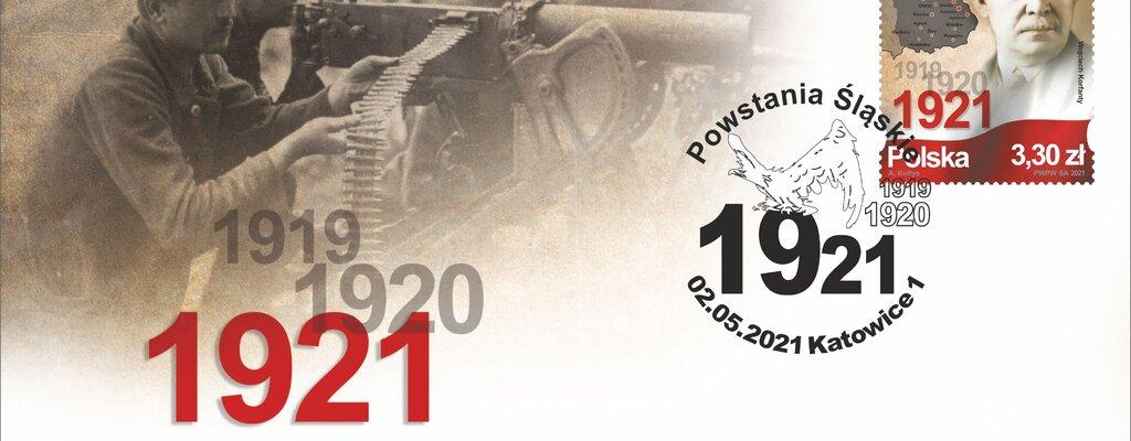 Powstania Śląskie – znaczek pocztowy honorujący bohaterskich Ślązaków