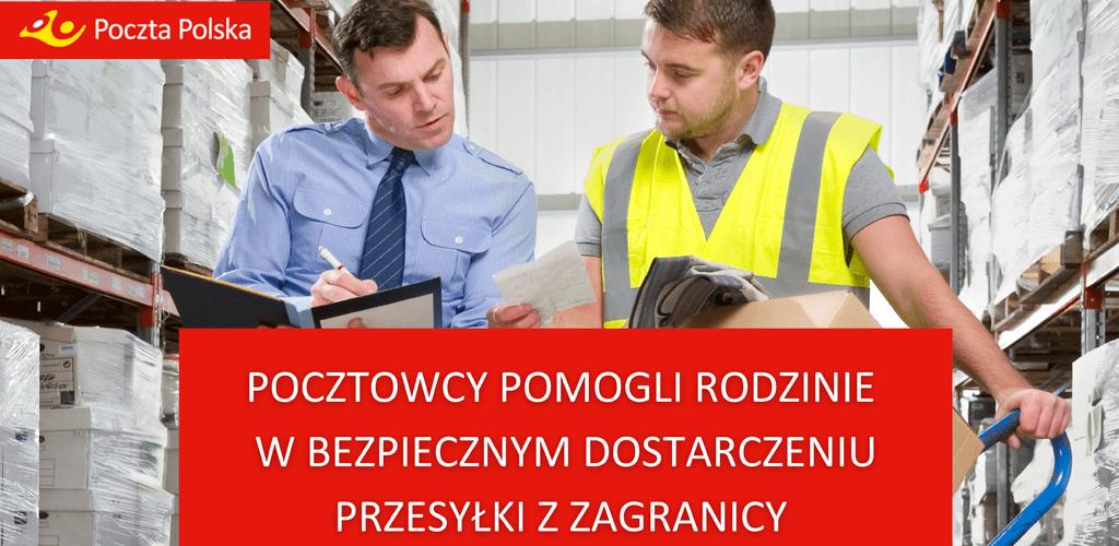 Interwencja Pocztowców na rzecz pacjentów covidowych szpitala w Rudzie Śląskiej