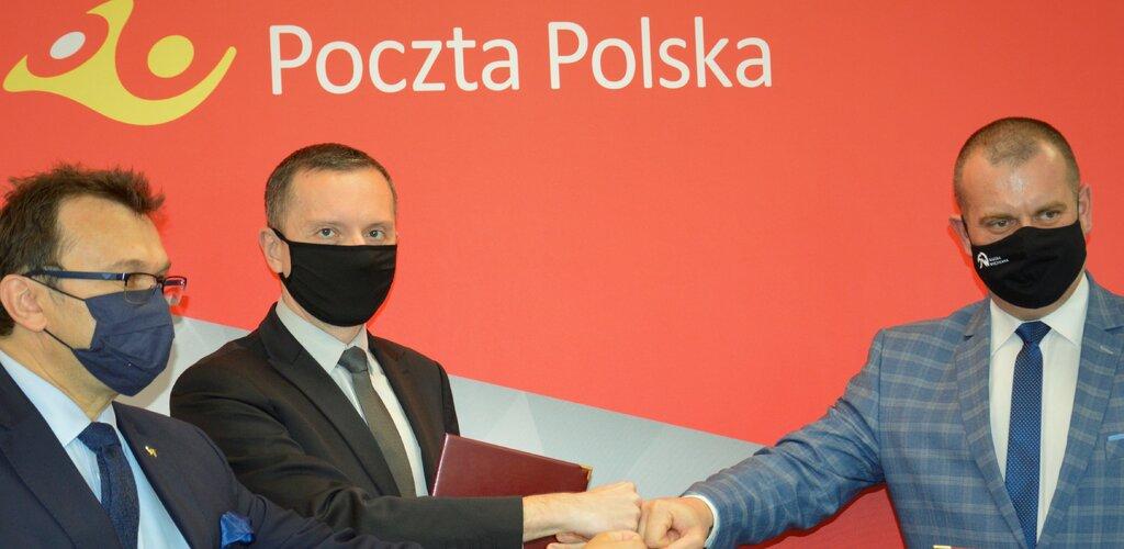 Poczta Polska nawiązała współpracę ze Szkołą Wyższą Wymiaru Sprawiedliwości