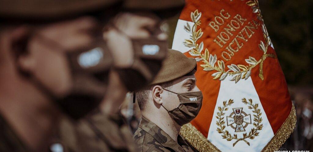 Ponad 300 Terytorialsów złożyło przysięgę wojskową