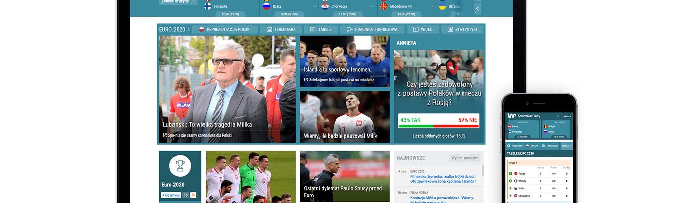 Euro 2020 w Wirtualnej Polsce
