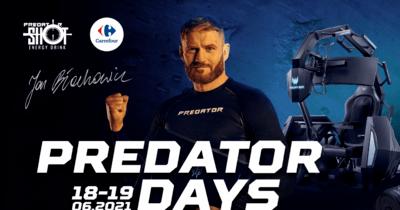 Predator Days z udziałem Jana Błachowicza, mistrza UFC,  w hipermarkecie Carrefour w Westfield Arkadia w Warszawie!