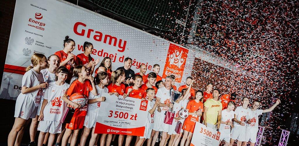 Puchar Drużyny Energii dla Szkoły Podstawowej z Gowidlina