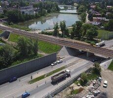 Postęp prac na budowie kolejowej Czechowice-Dziedzice