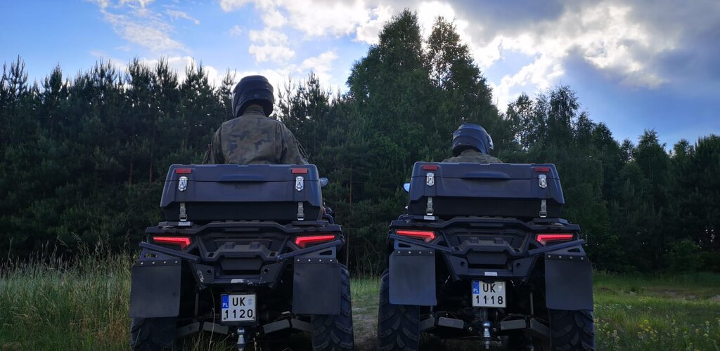 Lasy pod kontrolą - żołnierze WOT wspierają samorządy, strażaków i policjantów
