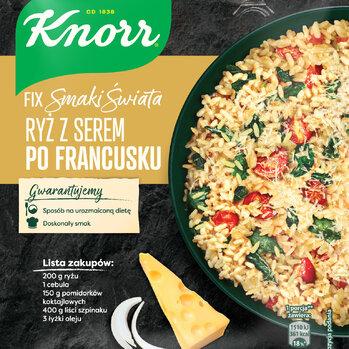 Zdjęcie: Ryż dookoła świata Poznaj kulinarne tajniki kuchni francuskiej, hiszpańskiej oraz meksykańskiej z nowymi Fixami Knorr