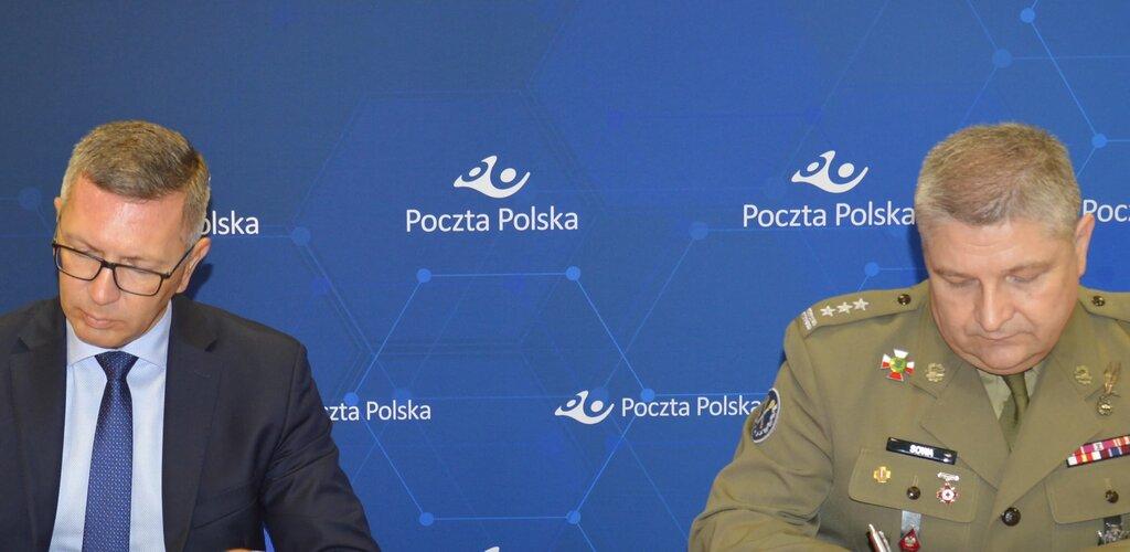 Poczta Polska podpisała uzgodnienie z Wojskiem Polskim o doręczaniu dokumentów powołania w trybie szczególnym