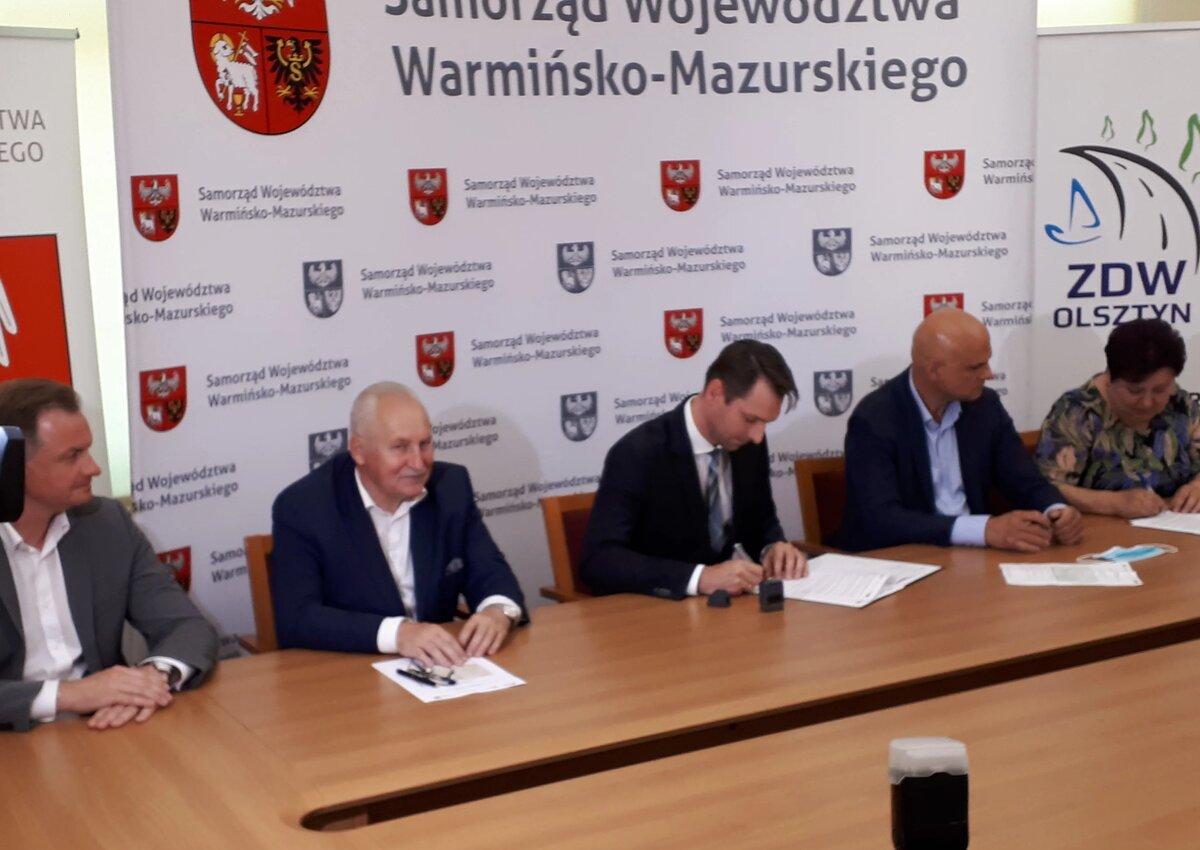 Budimex przebuduje 22 km drogi nr 527 między Łuktą a Olsztynem