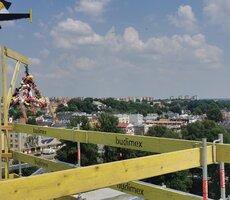 Uroczyste zawieszenie wiechy w Specjalistycznym Szpitalu Klinicznym nr 1 w Lublinie
