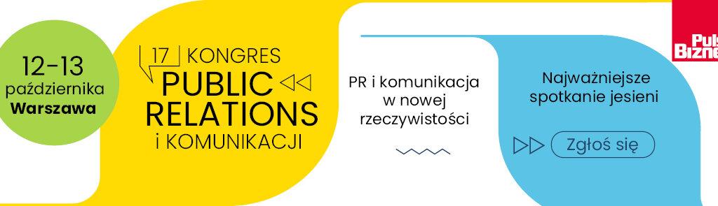 PSPR patronem XVII Kongresu Public Relations i Komunikacji
