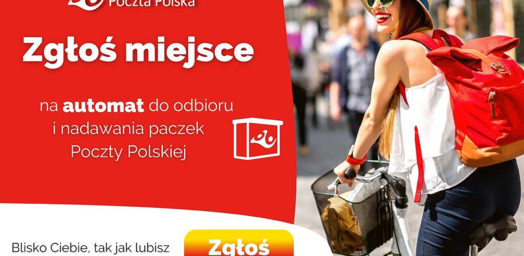 Zgłoś miejsce na automat paczkowy Poczty Polskiej