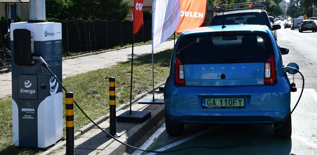 Nowe stacje ładowania w Gdyni