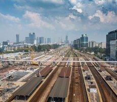 Film dokumentujący ostatnie miesiące budowy stacji Warszawa Zachodnia