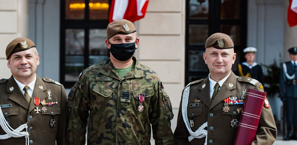 Awanse generalskie i odznaczenia w Święto Wojska Polskiego