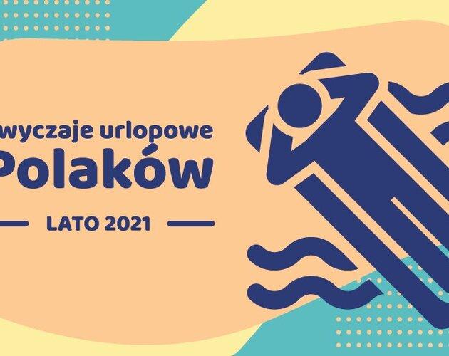 Zwyczaje urlopowe Polaków – lato 2021. Wyniki badania