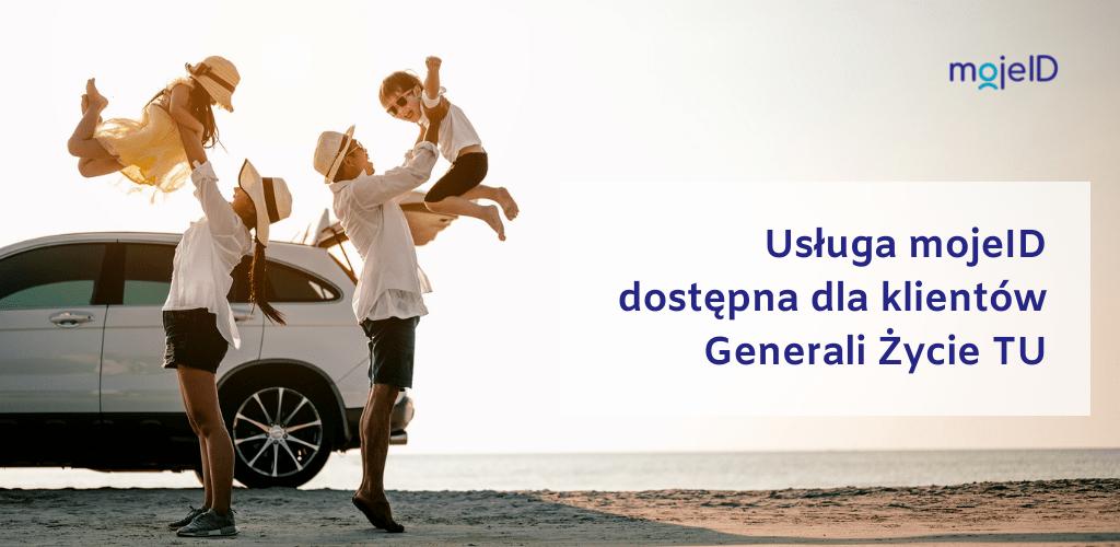 Usługa mojeID dostępna dla klientów Generali Życie TU S.A.