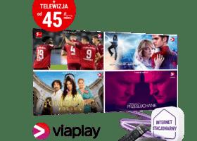 Specjalna oferta PLAY z Viaplay w cenie abonamentu– internet stacjonarny z telewizją, oraz  filmy i sport już od 45 zł miesięcznie