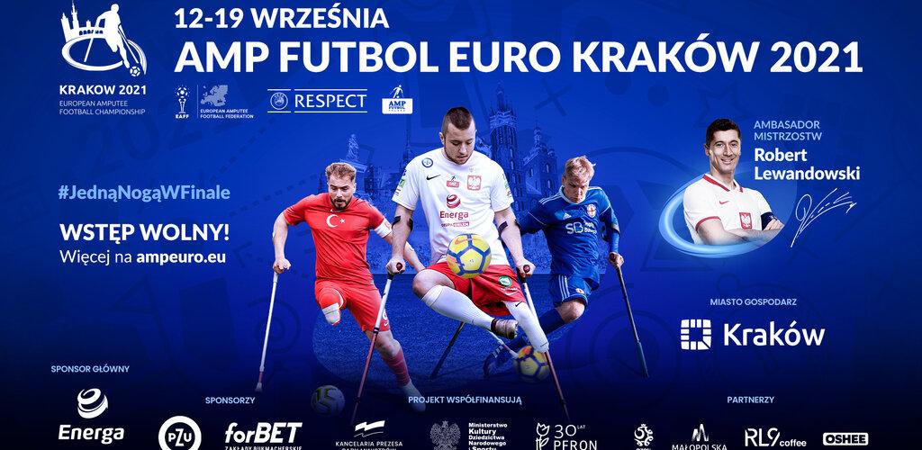 Rozpoczynają się Mistrzostwa Europy Amp Futbol Kraków 2021