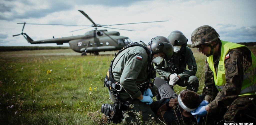 Ranny pilot na poligonie – czyli NZPR w akcji
