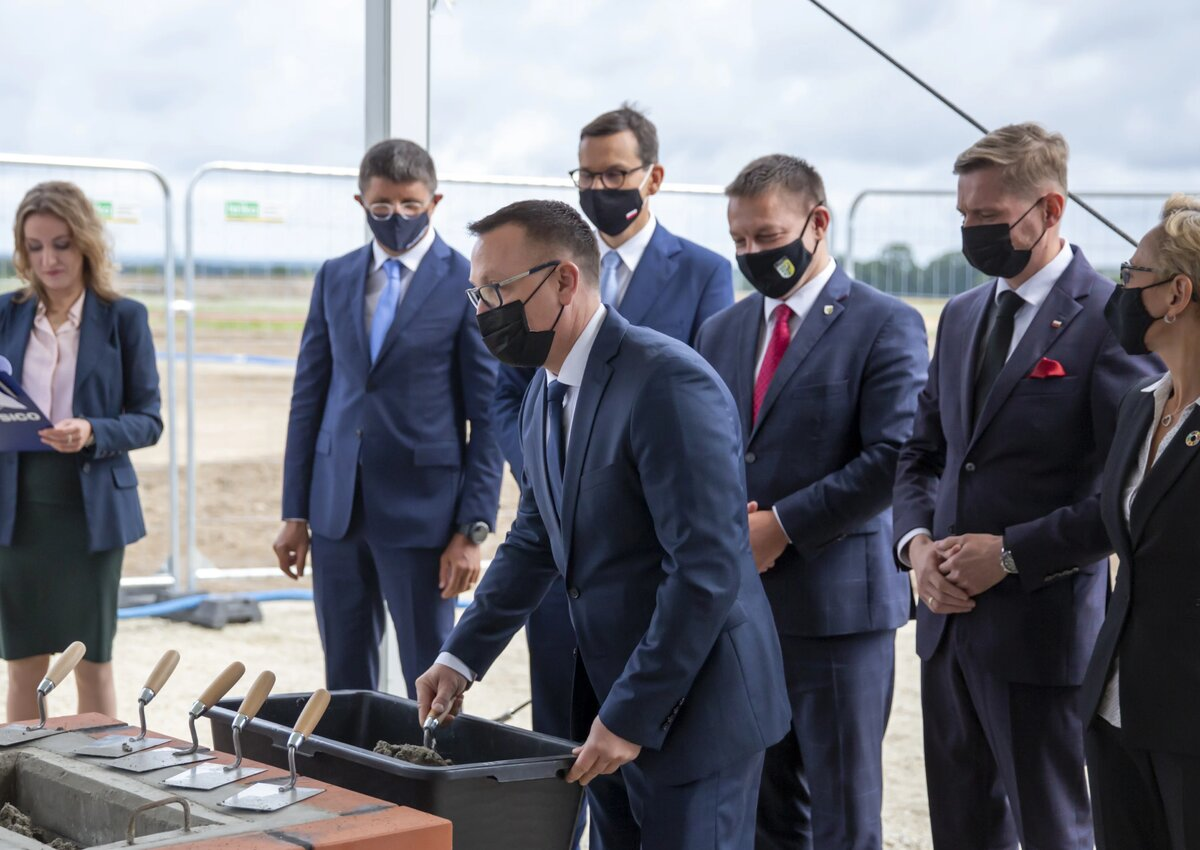 Start of construction of PepsiCo plant in Poland