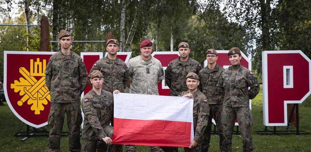 Podlascy terytorialsi na zawodach OT na Litwie