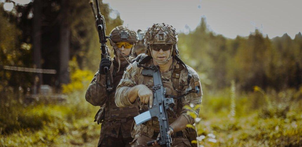 Wspólne szkolenie z amerykańską Gwardią Narodową