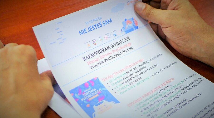 KGHM i samorządy Zagłębia Miedziowego inaugurują Program Przeciwdziałania Depresji