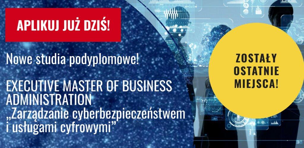 """Poczta Polska: studia EMBA z """"Zarządzania cyberbezpieczeństwem i usługami cyfrowymi"""" od października na AMW w Gdyni"""