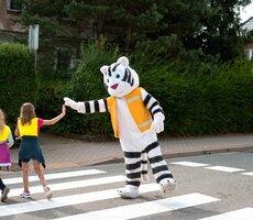 Kolejne bezpieczne przejście dla pieszych od firmy Budimex