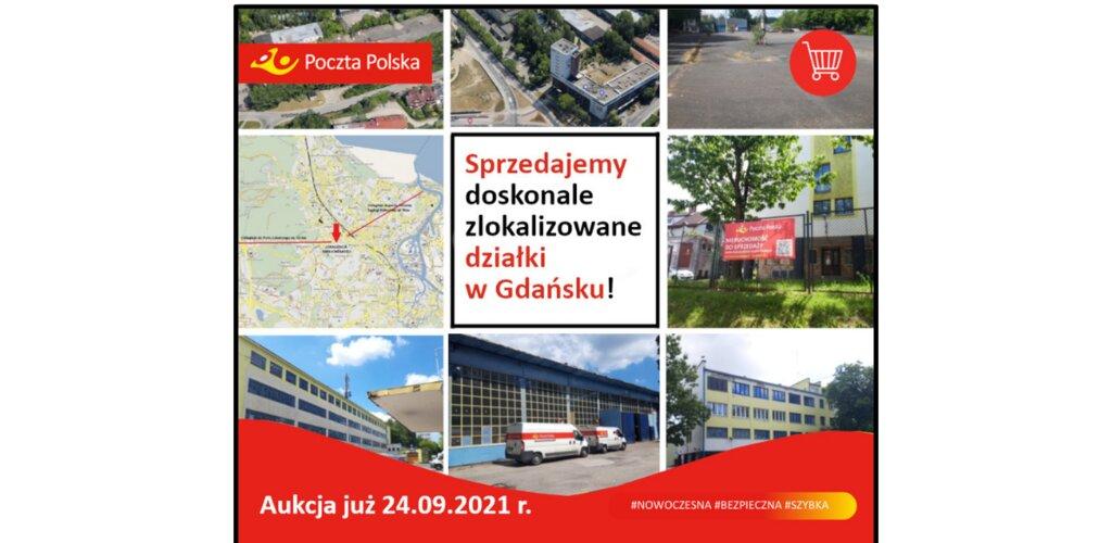 Poczta sprzedaje atrakcyjną nieruchomość w Gdańsku. Cena? Co najmniej 35 mln złotych