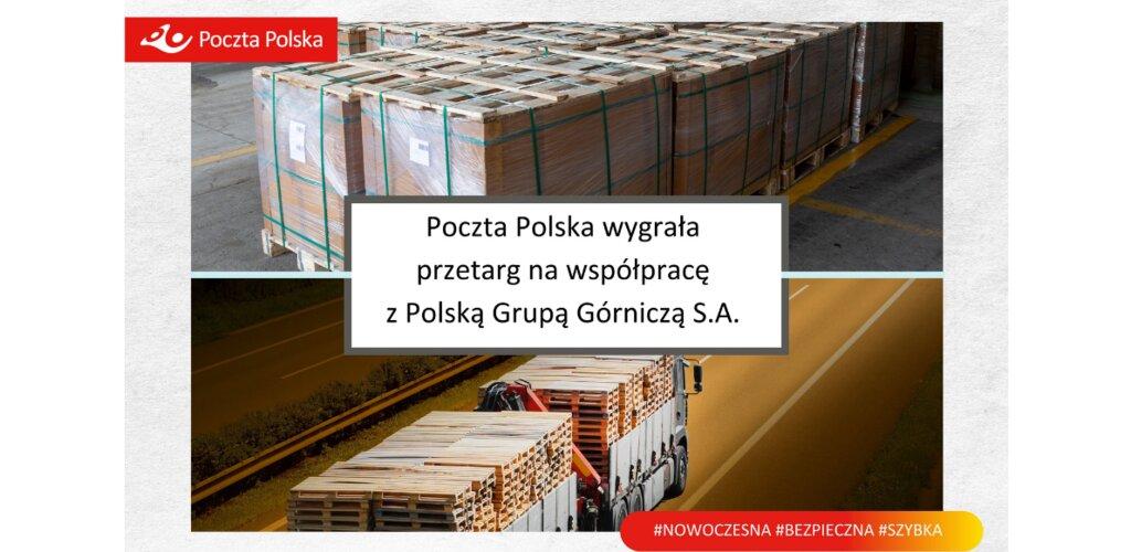 Poczta Polska wygrała przetarg na współpracę z Polską Grupą Górniczą S.A.