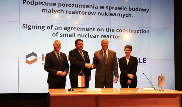 KGHM plans to build the first small nuclear reactor (SMR) in Poland