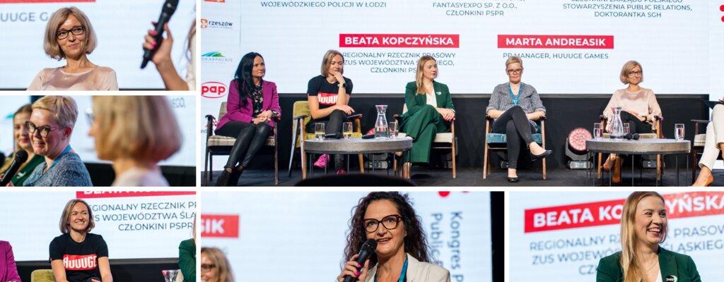 """Wzajemne wsparcie od teraz! Po panelu """"Kobiety w komunikacji"""" na Kongresie PR w Rzeszowie"""