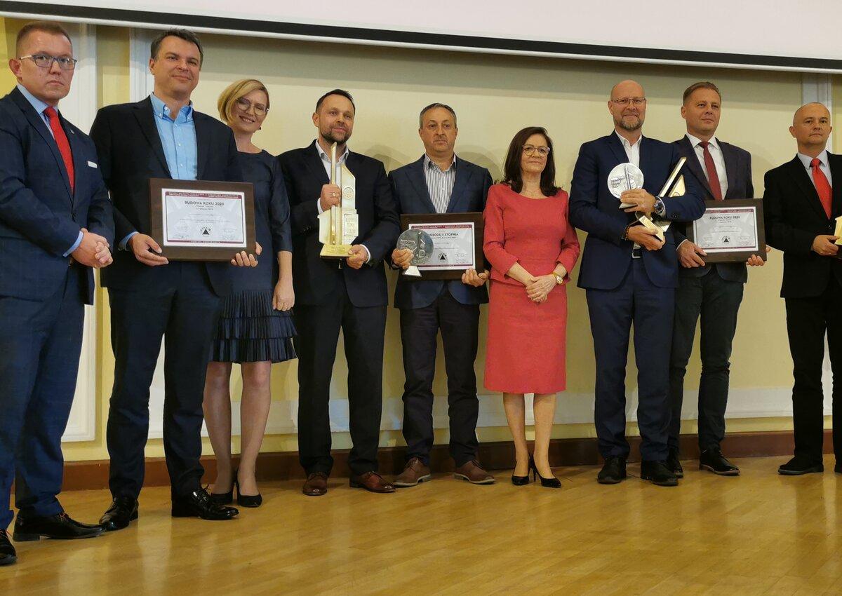 Pięć nagród dla Budimeksu na gali Budowa Roku 2020