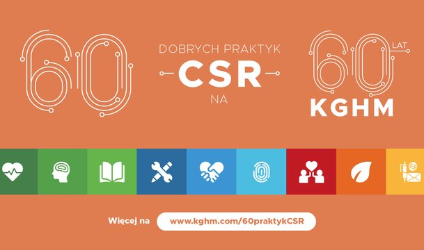 We give the best of ourselves - KGHM shares good CSR practices with the world