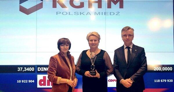 """Nos valoran – KGHM obtiene los premios """"Mejor Informe Anual"""" y """"Ámbar de la economía polaca"""""""