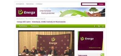 Internetowe transmisje wideo dla energetyki